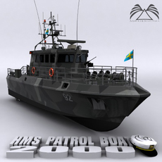 HMS Patrol Boat 3D Model