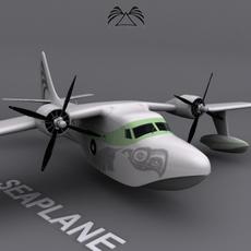 Seaplane 03 3D Model