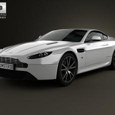 Aston Martin V8 Vantage 2012 3D Model