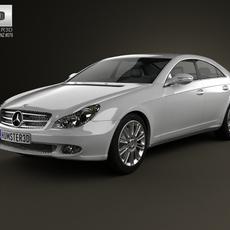 Mercedes-Benz CLS-Class (C219) 2006 3D Model