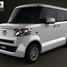 Honda N Box plus JF1 2012 3D Model