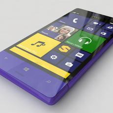 HTC 8XT 3D Model