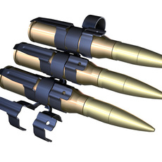 Ammunition Belt 3D Model