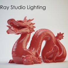 V-Ray Studio Lighting Set A (30cm) for 3ds Max 3D Model
