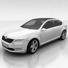 Skoda Vision D 3D Model