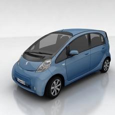 Peugeot ION 3D Model