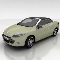 Renault Megane Coupe Cabriolet 3D Model