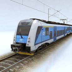 Regio Panter train 3D Model