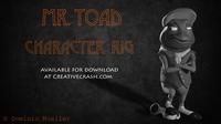 Mr. Toad Maya Character Rig 3D Model