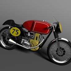 Matchless G50 1954 3D Model