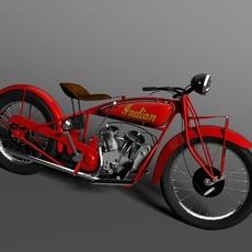 Indian Scout 1928 3D Model