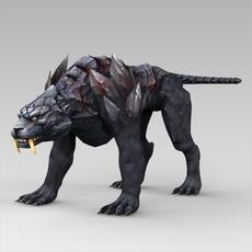 Fantasy Animal Nishachar 3D Model