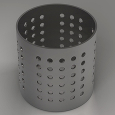 Cooking utensils stand 3D Model