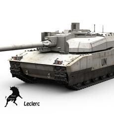 Leclerc United Nations scheme 3D Model