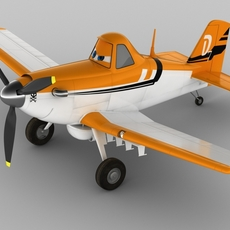 Dusty Crophopper 3D Model