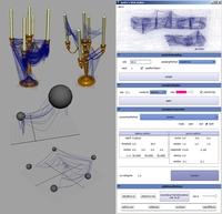 Spider web maker for Maya 1.0.0 (maya script)