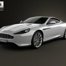 Aston Martin DB9 2013 3D Model