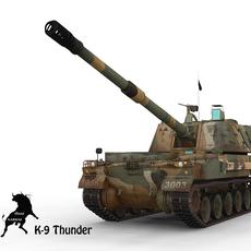 K-9 Thunder, RoK Army Scheme 3D Model