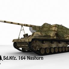 Sd.Kfz.165 Nashorn, textured model 3D Model