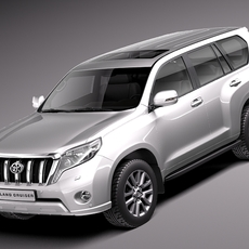 Toyota Land Cruiser 2014 3D Model