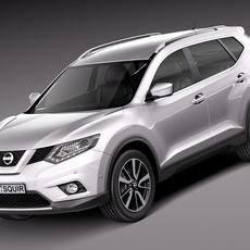 Nissan X-Trail 2014 3D Model