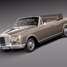 Rolls-Royce Corniche 1971–1997 3D Model