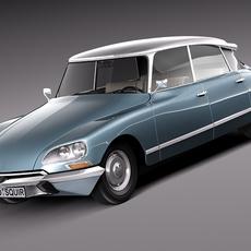 Citroen DS 1967-1975 3D Model