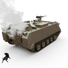 M-58 Smoke 3D Model