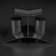 salt and pepper 3D Model