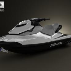 BRP Sea-Doo GTI SE 130/155 2012 3D Model