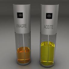 Oil and vinegar 3D Model