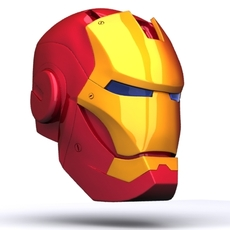 Iron Man Helmet 3D 3D Model