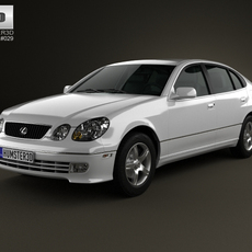 Lexus GS (S160) 2004 3D Model