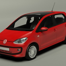 Volkswagen Up! 5 door 2013 3D Model