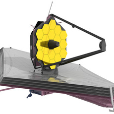 James Webb Spacial Telescope 3D Model