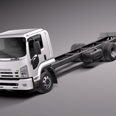ISUZU F-series 2013 3D Model