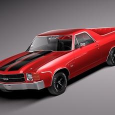 Chevrolet El Camino 1971 3D Model