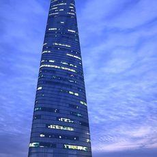 The Shanghai Tower Night 3D Model