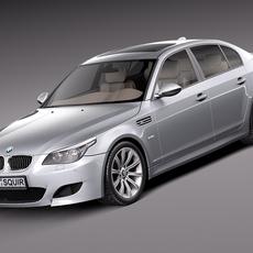 BMW M5 e60 2005-2010 3D Model