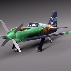 Disney Ripslinger 3D Model