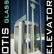 Elevator Lift  produced by OTIS 3D Model