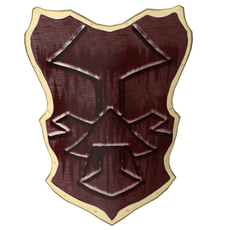 Warrior's Shield 3D Model