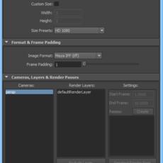 IK Render View Renderer for Maya 2.0.6 (maya script)