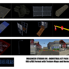 Industrial Kit Pack 3D Model