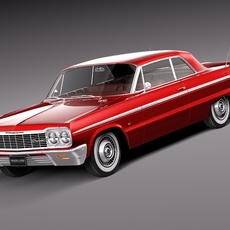 Chevrolet Impala Coupe 1964 3D Model