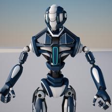 Robot FGV134 3D Model