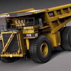 CAT Haul Truck 797B 3D Model