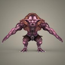 Fantasy Character Mustanda 3D Model