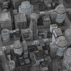 Realistic Science City 3D Model