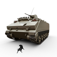M-113 Turkish Army version 3D Model